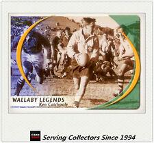 2003 Kryptyx Rugby Union Trading Cards Wallabie Legends WL2: Ken Catchpole