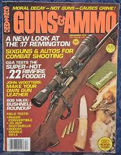 Vintage Magazine GUNS & AMMO December 1979 !!! KODIAK MARK I DOUBLE RIFLE !!!