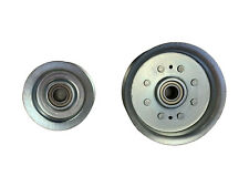 New Idler Pulley Kit W//Transmission Drive Belt For John Deere LA110 LA115 LA120