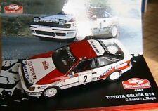 Toyota Celica Gt4 - 1991 #2 Rallye Monte Carlo (1 43) Sainz