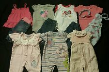 Baby Girl Size 0-3 Months Mixed Fall Clothing Lot