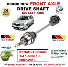 FOR RENAULT LOGAN 1.4 1.5dCi 1.6 2007-2013 BRAND NEW FRONT AXLE LEFT DRIVESHAFT