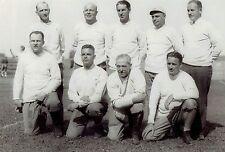 1934 Original Photo coaching staff of Harvard Crimson college football team