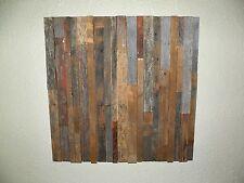 "Reclaimed Barn Wood Art 24"" x 24"" (Actual Art Pictured)  Pre Civil War Pieces"