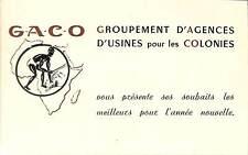AFRIQUE NOIREE CARTE DE VOEUX GACO