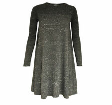Tunic Regular Size Dresses Textured