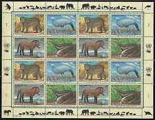 Timbres Animaux Nations Unies Vienne F 242/5 ** année 1997 lot 4207