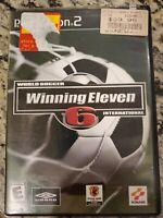 World Soccer Winning Eleven 6 International PS2 Game Sony PlayStation 2 CIB