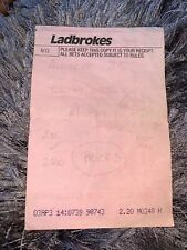 More details for grand national winning ticket esha ness 1993 unique gift horse racing jockey bet