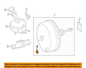 MERCEDES OEM 10-16 Sprinter 2500-Power Brake Booster Gasket 0019986101