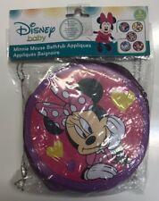 New Disney Minnie Mouse and Daisy Duck Bathtub Appliques Daisy Duck 5 Pc Round!