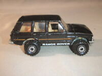 VINTAGE MATTEL HOT WHEELS RANGE ROVER DIECAST TOY CAR 1989 1/64 MALAYSIA METAL