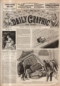 1897 Daily Graphic December 21 - Sikh heroism memorial; Lily Langtry; Voltaire
