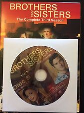 Brothers and Sisters - Season 3, Disc 5 REPLACEMENT DISC (not full season)