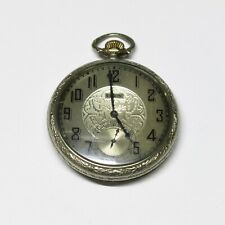 Pocket Watch S/N: 29304753 Runs Well! Antique Elgin 7j