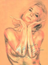 SHIRLEY EATON Signed 8x6 Photo Jill Masterson In GOLDFINGER COA