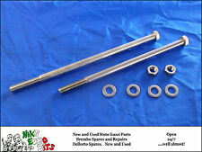 MOTO GUZZI BIG BLOCK MAIN ENGINE AND GEARBOX STAINLESS STEEL BOLTS