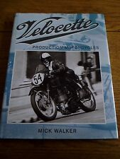 VELOCETTE PRODUCTION MOTORCYCLES, MOTORBIKE BOOK