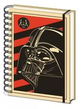 STAR WARS DARTH VADER RED HARDCOVER A5 NOTEBOOK LINED OFFICIAL