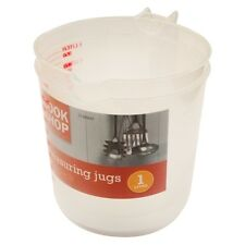 NEW PACK OF TWO MEASURING JUGS 1 LITRE A MUST FOR ANY KITCHEN L@@K BARGAIN