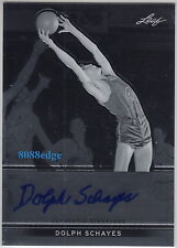 2012-13 LEAF METAL AUTO: DOLPH SCHAYES - AUTOGRAPH NBA TOP 50/12 TIMES ALL-STAR