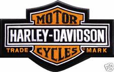 HARLEY DAVIDSON LONG B&S PATCH   7 1/4 INCH