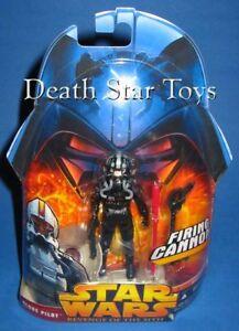 Star Wars ROTS Revenge of the Sith 34 Clone Pilot Black Variant Trooper AOTC CW