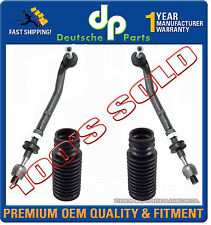 Tie Rod Rods + Steering Rack Boots 32111094673 + 32111094674 for BMW E39 SET 4pc