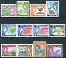 PITCAIRN ISLANDS-1957-63 Set to 2/6 Sg 18-28 LIGHTLY MOUNTED MINT V30058