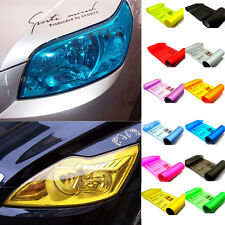 13 Colors Headlight Tail Light Car Tint Film Overlay Sticker Cover 30cm x 100cm