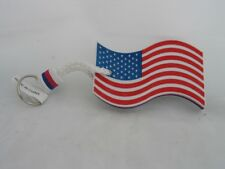 USA  AMERICAN FLAG Floating Key Chain