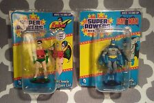 DC Comics Super Hero Super Powers Bat Man & Robin Micro Figures NEW Gentle Giant