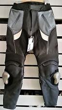 PANTALONI PELLE FRANK THOMAS PPNG54 UK 34 EURO 54 LEATHER MOTORCYCLE PANTS