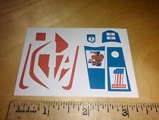 """Evel"" STUNT CYCLE/STUNT BIKE STICKERS knievel"