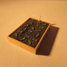 Artisan made doll house miniature ~ 1/24 scale ~ seed box