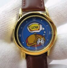 "CAT,KITTY,""Dreaming"" Animated 3D Dial,Cat Lover, ADULT UNISEX WATCH,M-31, L@@K"