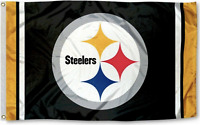 Steelers FLAG 3X5 Pittsburgh Banner American Football New Fast USA Shipping PS