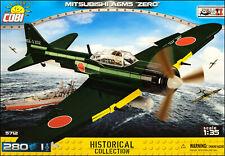 COBI Mitsubishi A6M5 Zero (5712) - 280 elem. - WWII Japanese fighter aircraft
