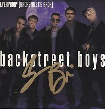 Brian Littrell AJ McLean signed Everybody Backstreet Boys cd single