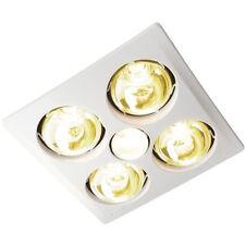 IXL Eco Sensation 3 in 1 Bathroom Tastic 4 x 275W Heat Lamps + Exhaust 12343