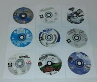 Lot Of 9 Sony PlayStation 1 PS1 Video Games Discs Only Tested Gran Turismo +++