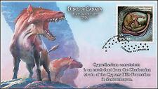 2016, Canada Fdc, Dinos of Canada, Cypretherium coarctatum, 16-016