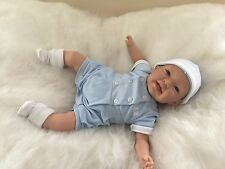 REBORN DOLL EDDIE Realistic Fake Life Like Baby Childs Birthday UK Saxon Reborns