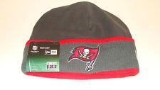 Mens Tampa Bay Buccaneers New Era On-Field Tech Sideline Cuffed Knit Hat Cap NFL