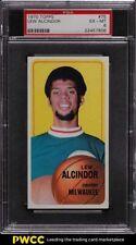 1970 Topps Basketball Lew Alcindor #75 PSA 6 EXMT