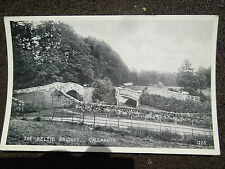 OLD BLACK & WHITE POSTCARD OF THE KELTIE BRIDGES CALLANDER J B WHITE