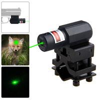Green Laser Dot Sight Scope For Gun Rifle Pistol Picatinny 11/21MM Rail Mount