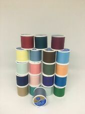 Lot of 20 Coats & Clark All Purpose Thread~135 Yd each Spool-Assorted Colors