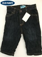 Old Navy Micro Performance Jeans for Baby Kids girls boys 6-12 m Dark Wash