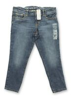 NWT Gymboree Dark Wash Blue Denim Jeggings Pants Girls Size 7